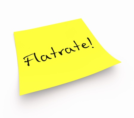 Notes - flat rate photo