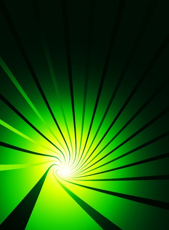 Vortex background banner black and green Stock Photo - 14586826