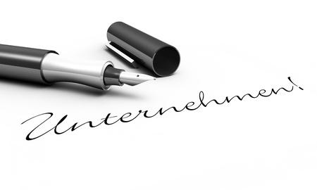 Company - pen concept Stock Photo - 14586820