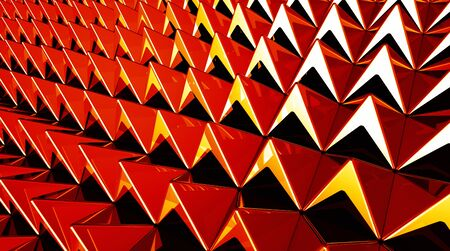 Background - Pyramids Red Yellow 4 matrix photo