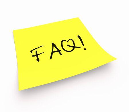 Stickies - FAQ photo