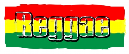 rasta: Red Yellow Green - Reggae Party Flag