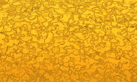 Gold 3D texture - background photo