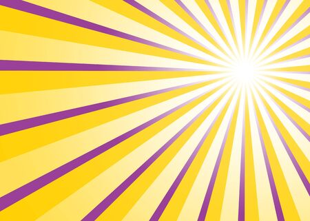 painted the cover illustration: Background - Purple Yellow light rays 02