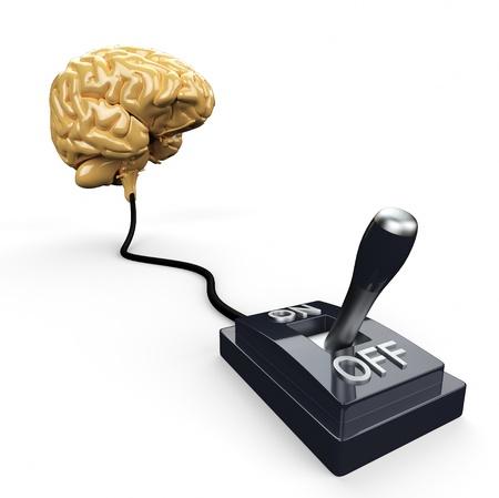 power off: Brain Switch - OFF