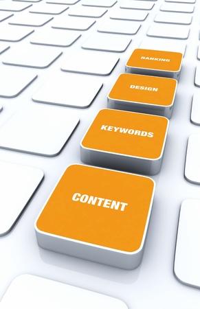 cuboid: Orange 3D Designs - Design Content Keywords Ranking 2 Stock Photo