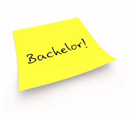 Stickies - Bachelor Stock Photo - 14620934