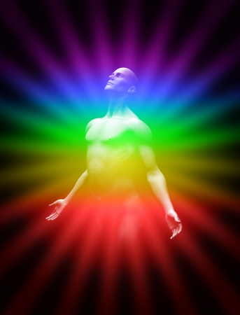 chakras: AuraTransformation Stock Photo