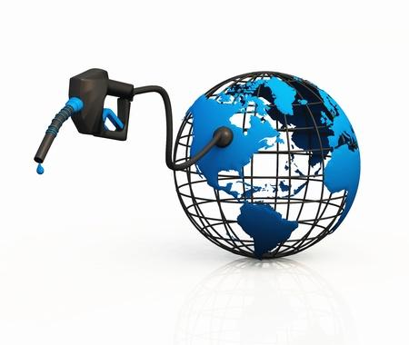3D-Betankung - US-Treibstoffbedarfs