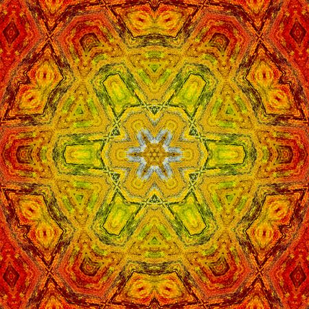 Ring of Fire Mandala 08 photo