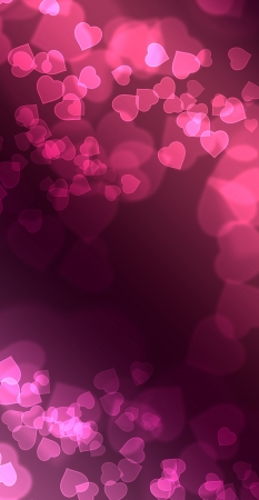 eroticism: Pink of Hearts Bokeh 05