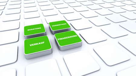 financing: 3D Designs Green - Financing Rentals Sales Advice 6 Stock Photo