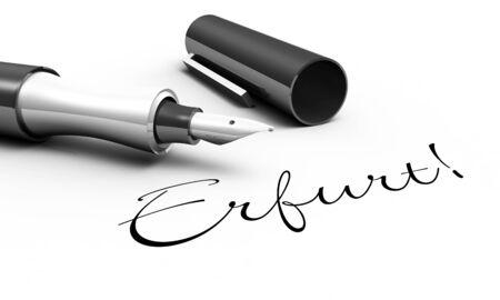 erfurt: Erfurt - pen concept