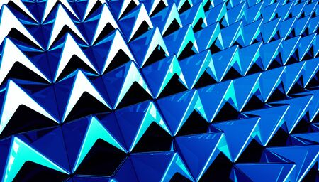 Pyramids blue cyan background matrix photo