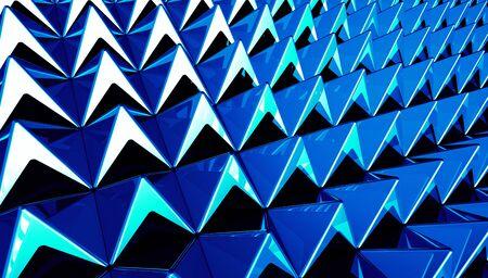 Pyramids blue cyan background matrix Stock Photo - 14687840