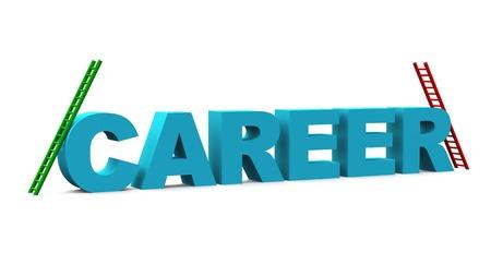 springboard: Career text concept