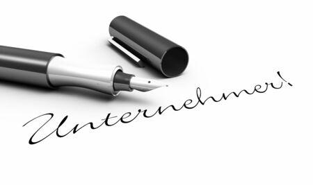entrepreneurs: Entrepreneurs - pen concept