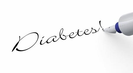 Pen Concept - Diabetes Stock Photo - 14688472