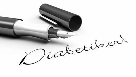 Diabetic patients - male concept Stock Photo - 14688518