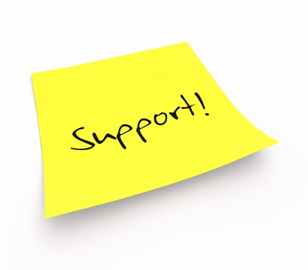 Stickies - Support photo