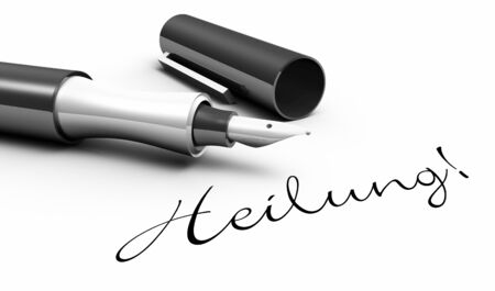 Healing - pen concept Stock Photo - 14688673