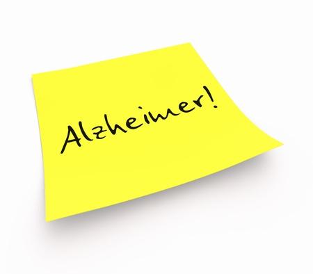 Hinweis - Alzheimer