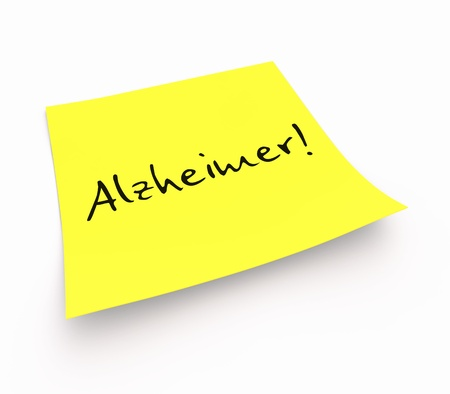 Note - Alzheimer photo