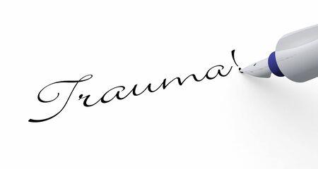 trauma: Pen Concept - Trauma