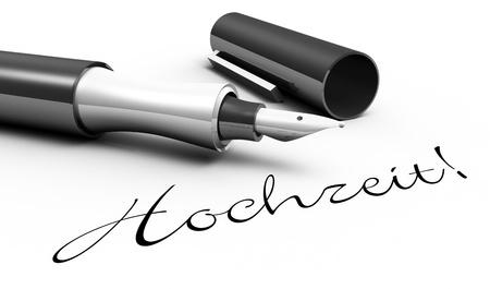 Wedding - pen concept Stock Photo - 14688840