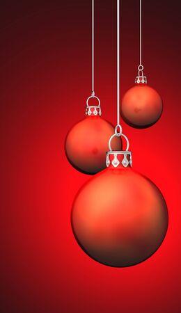 Christmas balls Background  photo