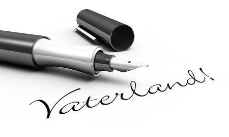 Fatherland - pen concept