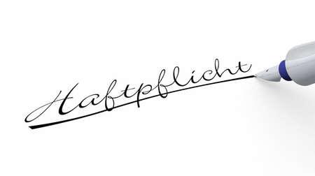 liability: Pen Concept - Liability Stock Photo