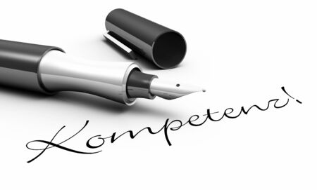 customercare: Competence - pen concept