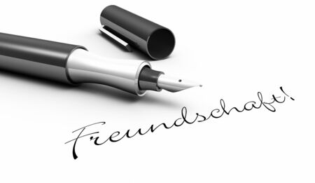 Friendship - Pen Concept photo