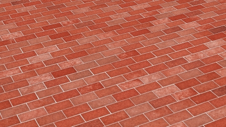 Brick-red diagonal texture photo