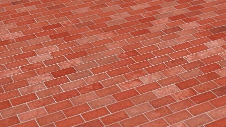 clinker: Brick-red diagonal texture