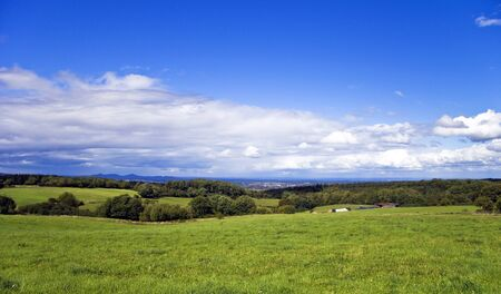 reported: View of the countryside in summer