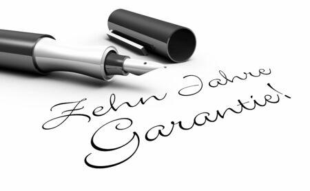customercare: Ten-year warranty - stylus concept