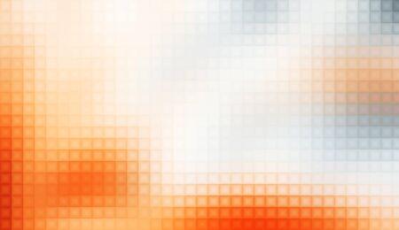 Disco Dot Matrix Background - Orange White photo