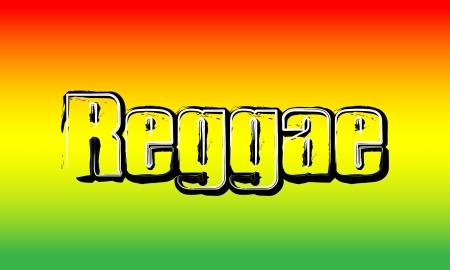 jamaica: Red Yellow Green - Reggae Party Background Stock Photo