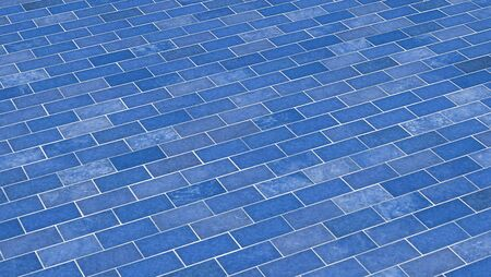 clinker tile: Brick-azul textura diagonal