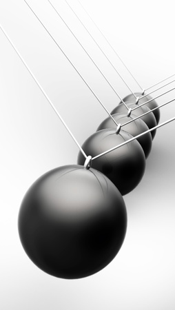 Business Black Ball and Chain Grey 06 Stock Photo - 14913325