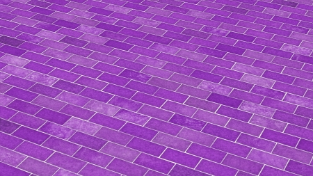 painted the cover illustration: Brick texture diagonal violet