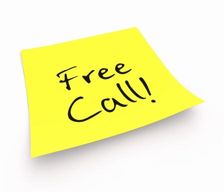 customercare: Stickies - Freecall