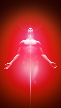 chakras: Light Transformation Red Black