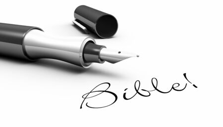 divine will: Pen Concept - Bible