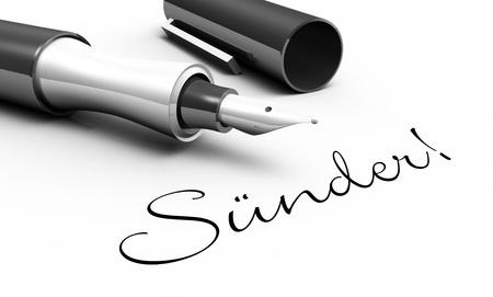 sinners: Sinners - pin concept