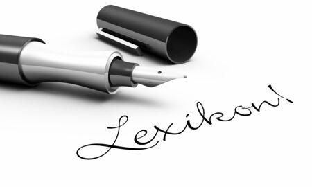 lexicon: Lexicon - pin concept