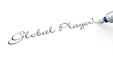 internationally: Pen Concept - Global Player