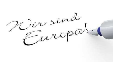 internationally: Pen Concept - We are Europe